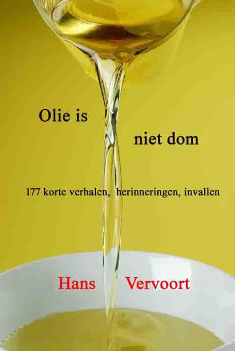 Omslag Olie is niet dom